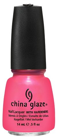 China Glaze Pink Plumeria China Glaze Summer Neons Collection Press Release & Promo Pictures