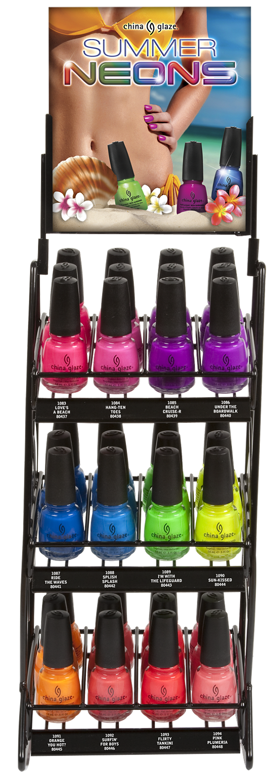 China Glaze Summer Neons Collection 2012 Press Release & Promo Pictures