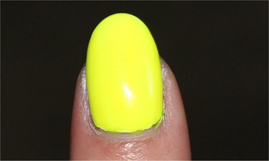 China Glaze Yellow Polka Dot Bikini Poolside Collection Review & Swatch