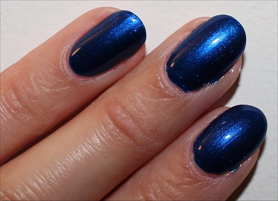 Essie Aruba Blue Swatch & Review