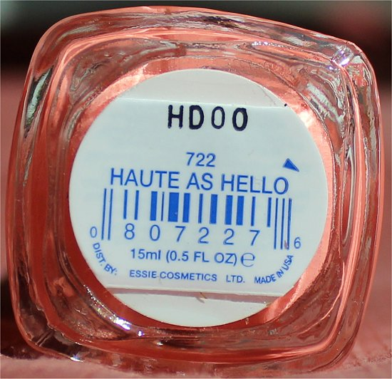 Essie Haute as Hello Swatch, Review & Pics