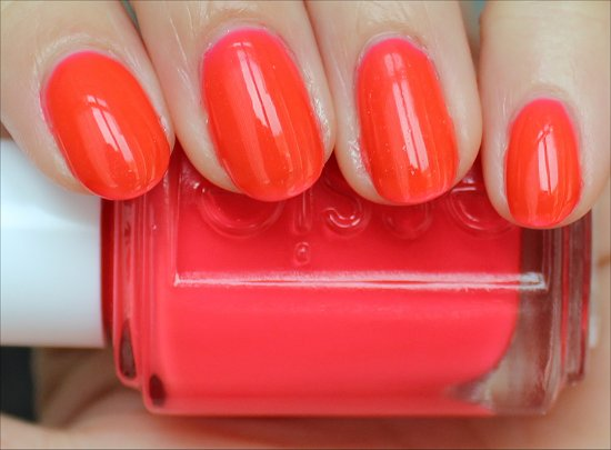 Essie Poppy-Razzi Collection Camera Swatch & Review