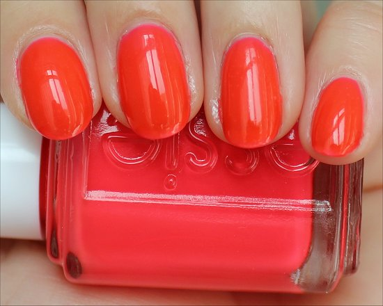 Essie Poppy-Razzi Collection Camera Swatches & Review