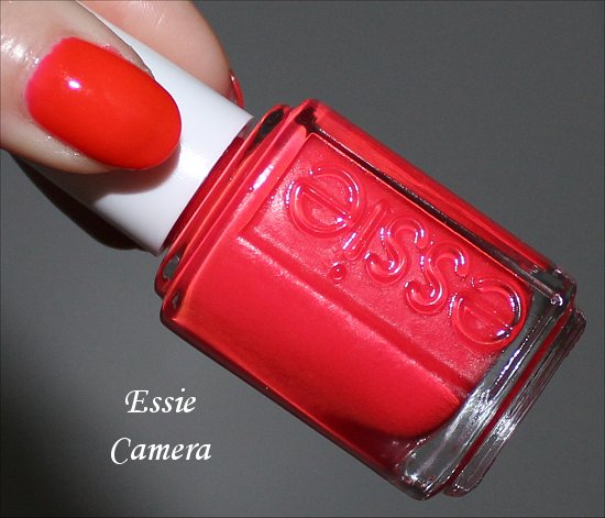 Essie Poppyrazzi Collection Camera Swatch & Review