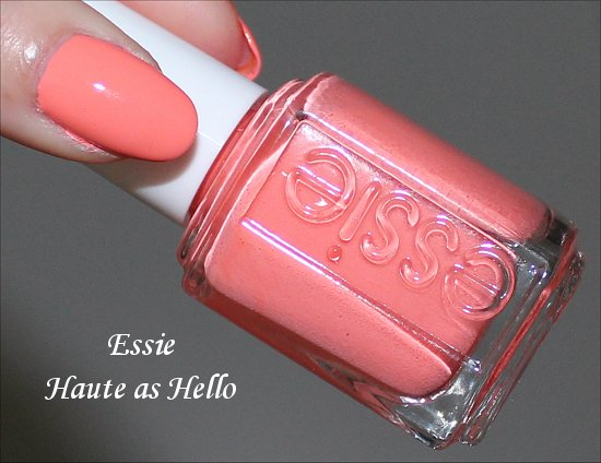 Essie Summer 2010 Collection Swatches & Review Haute as Hello