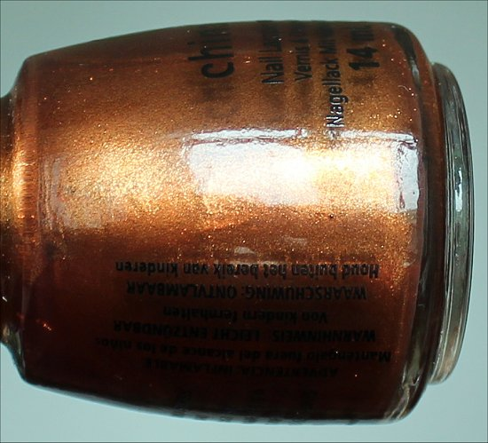 Harvest Moon by China Glaze Swatch & Review