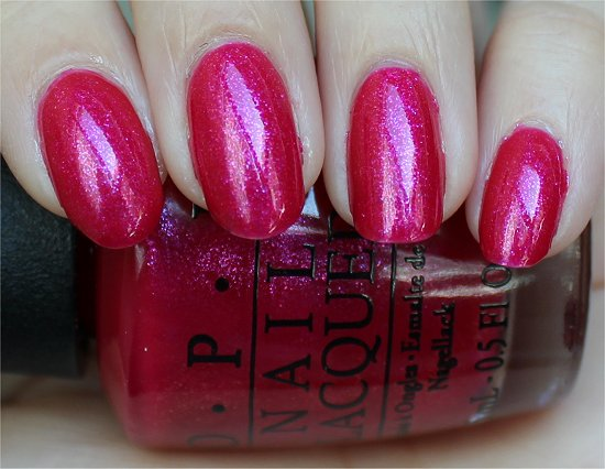 I'm All Ears by OPI Minnie Mouse Collection Swatch & Review