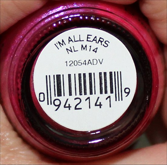 I'm All Ears by OPI Swatches & Review