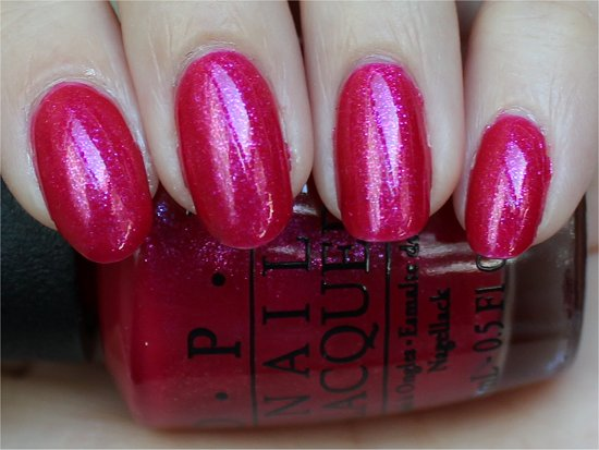 I'm All Ears by OPI Vintage Minnie Mouse Collection Review & Swatches