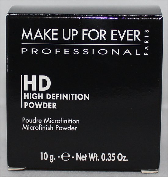 Make Up For Ever HD High Definition Microfinish Powder Pictures & Review