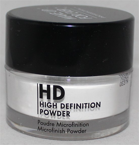 Make Up For Ever HD High Definition Powder Microfinish Powder Review & Pictures