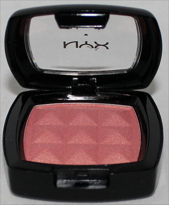 NYX Blush Pinched Swatches & Review