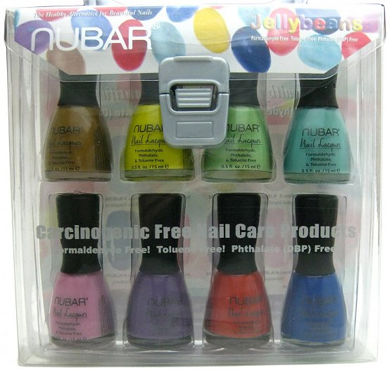 Nubar Giveaway NailPolishCanada SwatchAndLearn Jelly Beans Collection