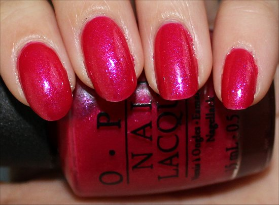 OPI I'm All Ears Review & Swatch