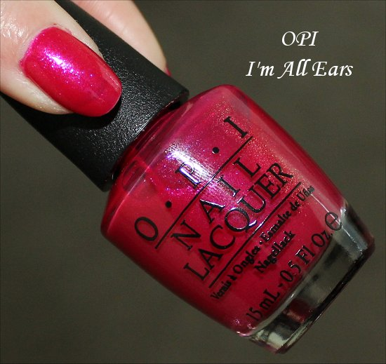 OPI I'm All Ears Review, Swatches & Pictures