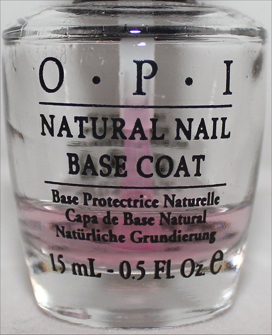 OPI Natural Nail Base Coat Pictures & Review