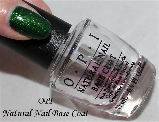 OPI Natural Nail Base Coat Review & Pictures