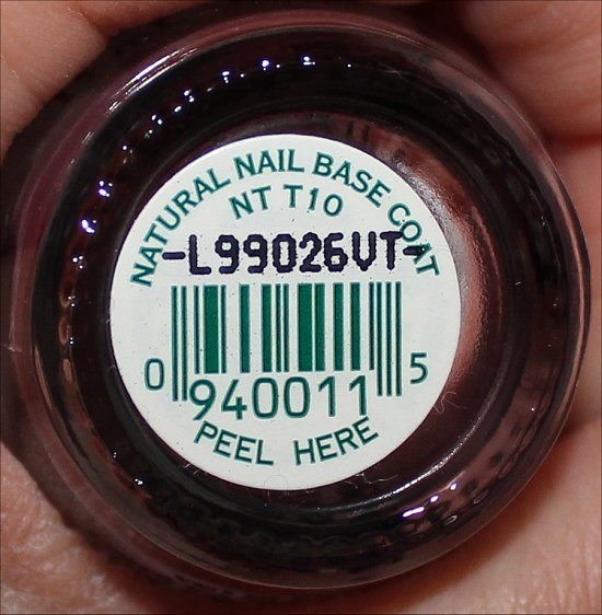 OPI Natural Nail Base Coat Review & Pictures | Swatch And Learn