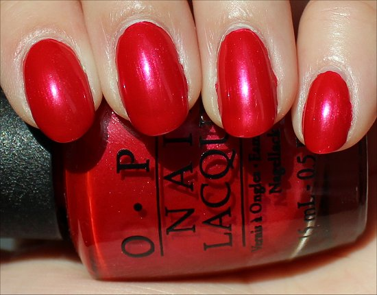OPI The Color of Minnie Review & Swatches