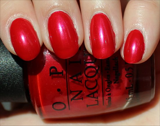 OPI The Color of Minnie Swatch & Review