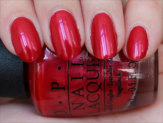 OPI The Color of Minnie Swatches & Pictures