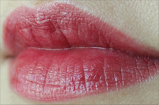 Red Velvet ColorBurst Revlon Lip Butter Swatch & Review Natural Light