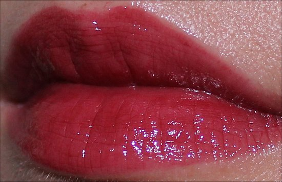 Revlon ColorBurst Lip Butter Red Velvet Swatch & Review Flash