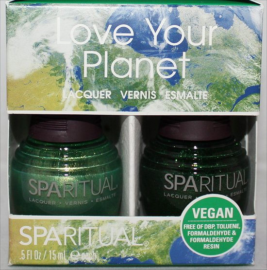 SpaRitual Greenhouse Pictures SpaRitual Earth Matters Pictures Polish Haul