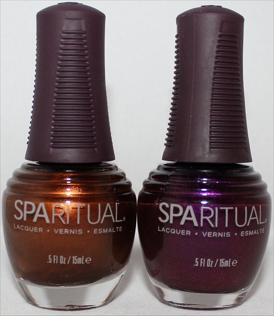 SpaRitual Running with Wolves Pictures SpaRitual Shooting Star Pictures Nail Polish Haul