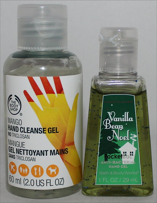 The Body Shop Hand Sanitizer Pictures & Review