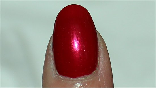 The Color of Minnie by OPI Swatch & Review