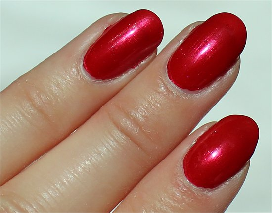 The Color of Minnie by OPI Swatches & Review