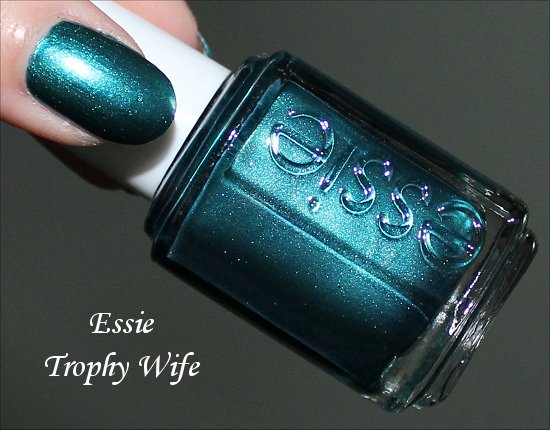 Trophy Wife by Essie Swatches, Review & Pics