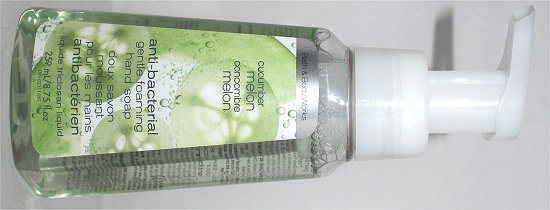 Bath & Body Works Cucumber Melon Hand Soap Review & Pictures
