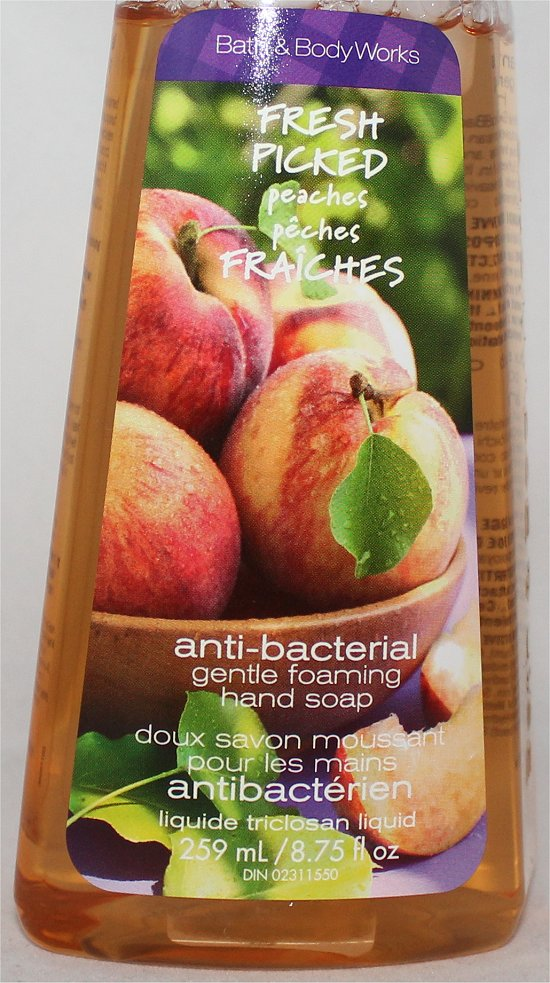 Bath & Body Works Fresh Picked Peaches Hand Soap