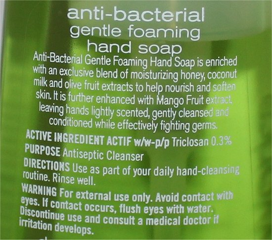 Bath & Body Works Malibu Citrus Anti-Bacterial Gentle Foaming Hand Soap Ingredients & Review