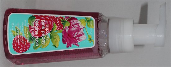 Bath and Body Works Raspberry Pink Peony Hand Soap Review &amp; Pictures