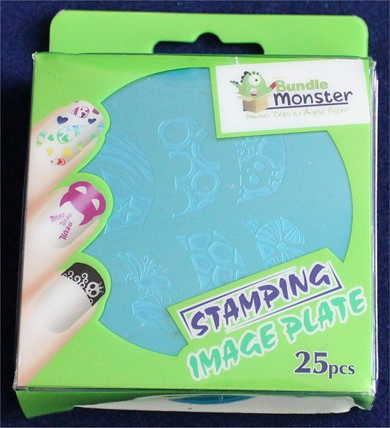 Bundle Monster Stamping Image Plate Set Review & Photos