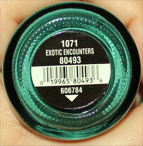 China Glaze Exotic Encounters On Safari Collection