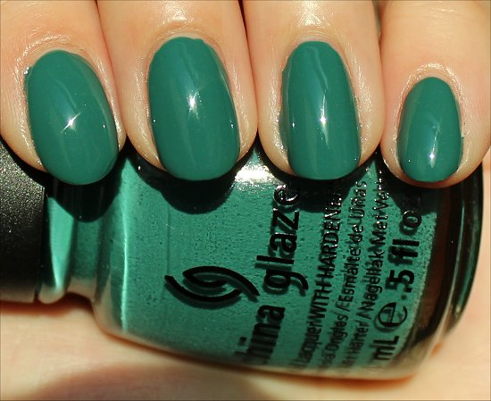 China Glaze Exotic Encounters Review & Swatch