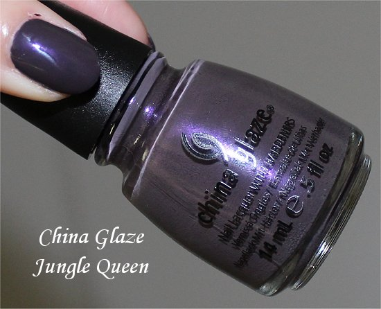 China Glaze Jungle Queen Swatch &amp; Review