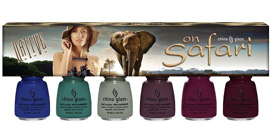 China Glaze On Safari Collection Native Set Press Release & Promotion Pictures