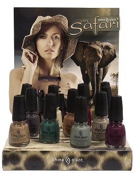 China Glaze On Safari Collection Press Release & Promotion Pictures