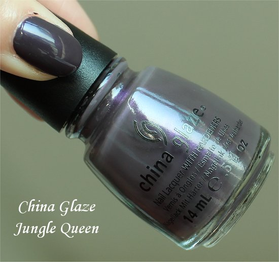 China Glaze On Safari Jungle Queen Swatch & Review