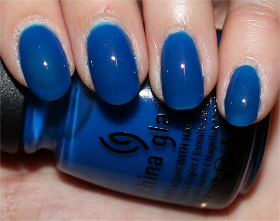 China Glaze Ride the Waves Review & Swatch