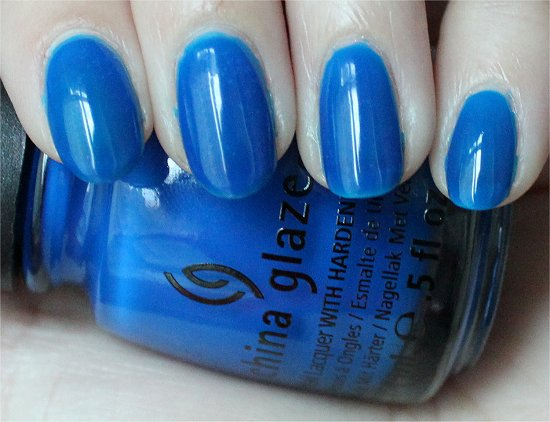 China Glaze Ride the Waves Summer Neons Swatches & Review