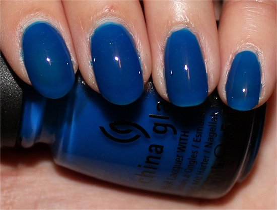 China Glaze Ride the Waves Swatch & Review
