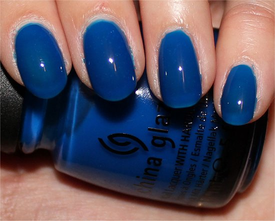China Glaze Summer Neons Collection Ride the Waves Swatches & Review
