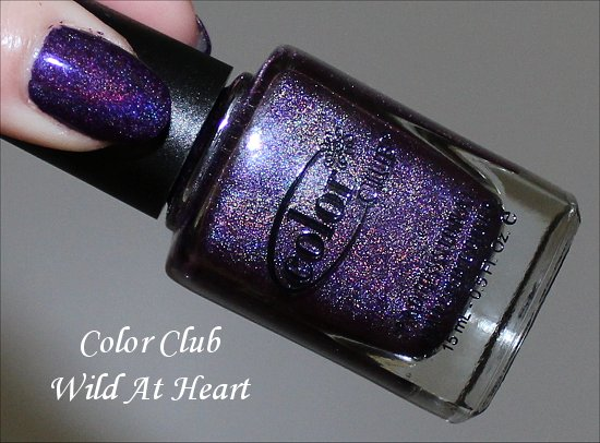 Color Club Wild At Heart Swatch & Review