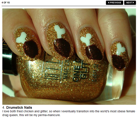 Drumstick Nail Art Bon Appetit Swatch And Learn